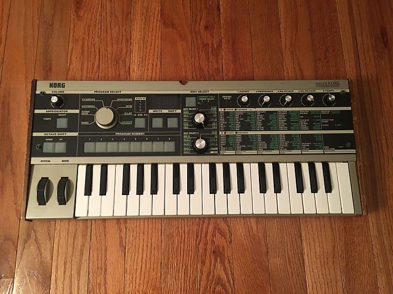 Korg microKORG 37-Key Synthesizer/Vocoder | Chez Quinzoni