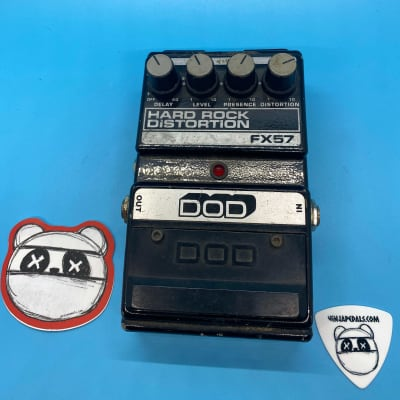 DOD Hard Rock Distortion FX57   Built in Analog Delay   Fast Shipping!