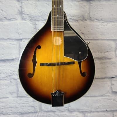 Washburn M1K-A Americana Series A-Style Mandolin Pack, Tobacco Sunburst w/ Gig Bag for sale
