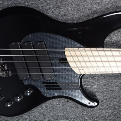 Dingwall NG-3 (5-String), Black Metallic with Maple Board *In Stock! for sale