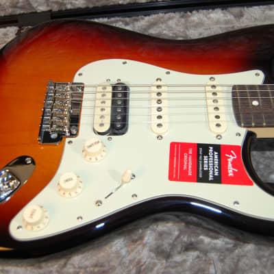 NEW Fender American Professional Stratocaster HSS Shawbucker Rosewood Sunburst Authorized Dealer