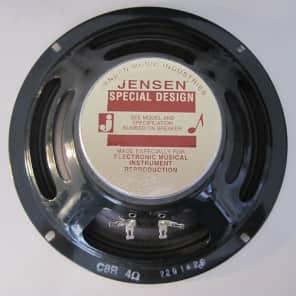 "Jensen C8R Vintage Ceramic 8"" 25-Watt 4ohm Guitar Speaker"