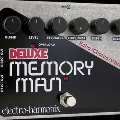 NEW EHX Deluxe Memory Man Analog Delay / Vibrato / Chorus Effect Pedal