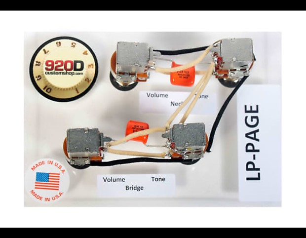 Jimmy Page Gibson Les Paul Wiring Harness | Windmill Music on jimmy page fender, jimmy page signature eds-1275, jimmy page pickups, jimmy page guitar setup, jimmy page number 1, jimmy page pickguard,