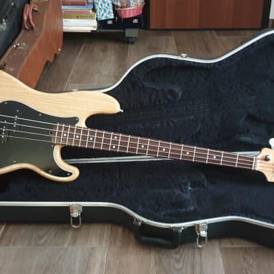 2000 Fender Hot Rodded (Rod) PJ American Precision Bass Natural • Premium ASH • for sale