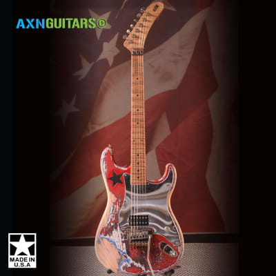 AXN™ Model 2 Banana Neck Guitar  : AVAILABLE : for sale