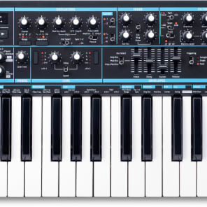 Novation BASS STATION II Bass Station II 25 Note Analogue Mono Synthesizer w/ 2 Tuneable Oscillators