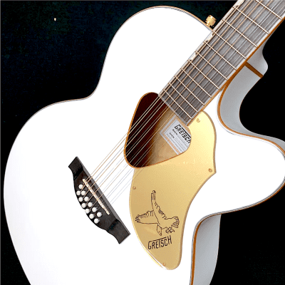 Gretsch Falcon 12-String Acoustic/Electric  White / Gold for sale