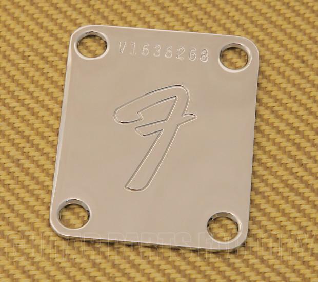 Vintage-Style F Logo Fender Neck Plate