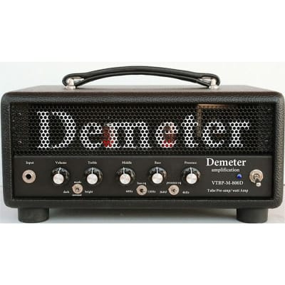 Demeter VTBP-M-800D Bass Amp, Hand Wired (USA) with All Tube Preamp for sale