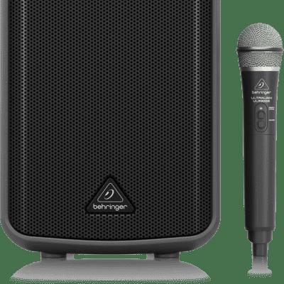 Behringer MPA100BT 100-Watt PA Speaker System with Wireless Mic