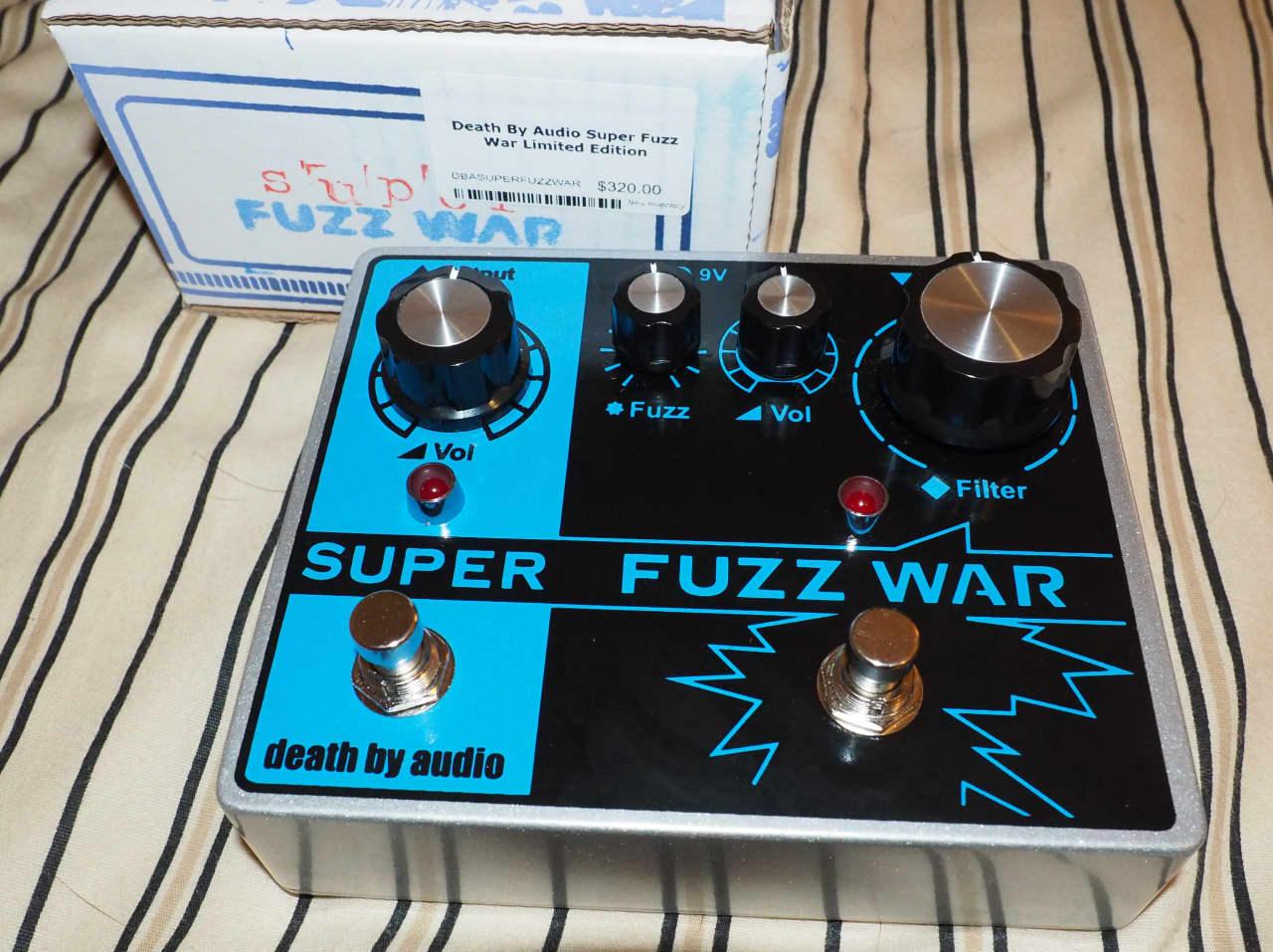 death by audio super fuzz war reverb. Black Bedroom Furniture Sets. Home Design Ideas