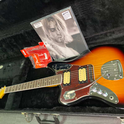 2020 Fender Kurt Cobain Jaguar LEFTY, Near Mint!