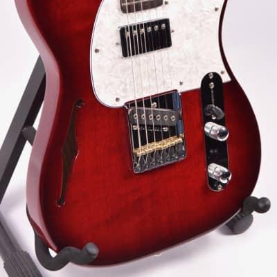 G&L Tribute ASAT Bluesboy Semi-Hollow, Red Burst for sale