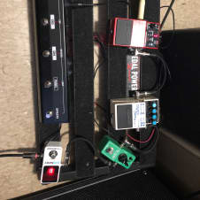 Pedaltrain Pedaltrain-1 With Voodoo Labs 2Plus Power Supply