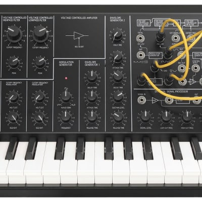 Korg MS-20 Mini Semi-Modular Analog Synthesizer 2019 Black
