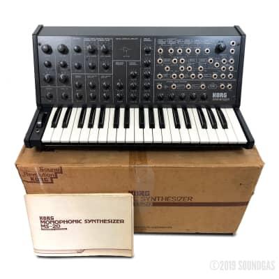 Korg MS-20 Mk1 with Original Box *Soundgas Serviced*
