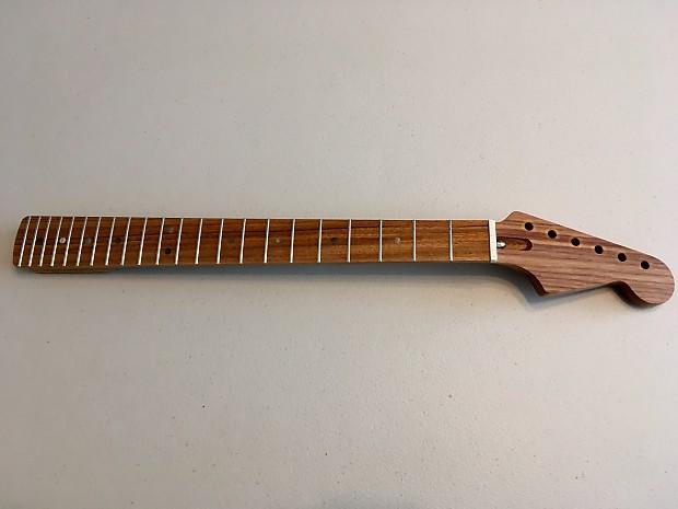 Warmoth / Fender Stratocaster Tiltback Neck Canary