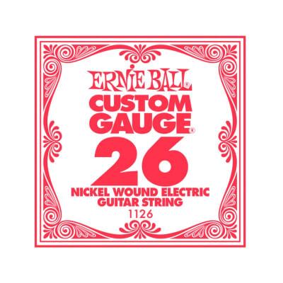 Ernie Ball Nickel Wound Single String 026