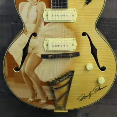 D'Angelico EX-59 2016 Custom Painted Marilyn Monroe