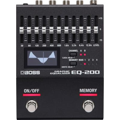 Boss EQ-200 Graphic Equaliser Pedal for sale