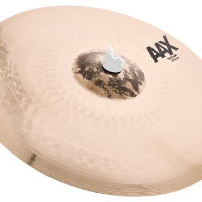 """Sabian 18"""" AAX Thin Crash Cymbal Brilliant"""