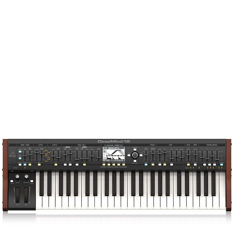 Behringer DeepMind 12 Polyphonic Analog Synth   Reverb