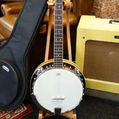 Harley Benton Banjo 5 string with gigbag for sale