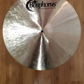 "Bosphorus 19"" Traditional Series Medium Thin Crash Cymbal"