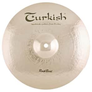 "Turkish Cymbals 17"" Rock Series Rock Beat Medium Crash RB-CM17"