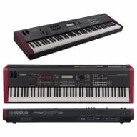Yamaha MOXF8 88-Key Synth Workstation Synthesizer with Stand and Free headphones