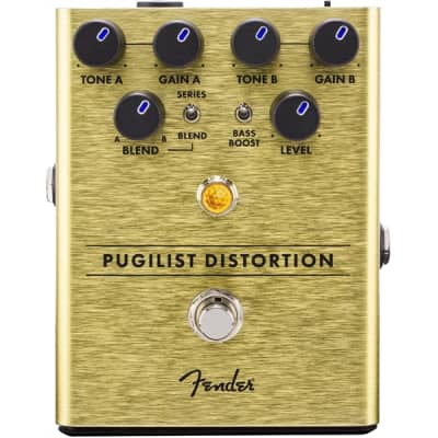 Fender Pugilist Distortion Effect Pedal for sale