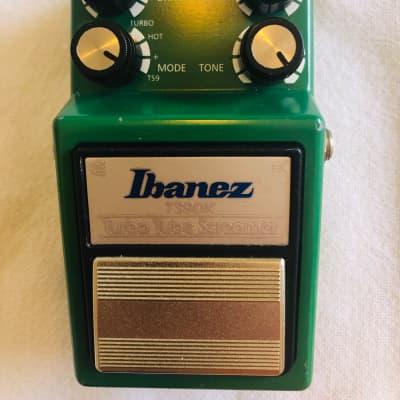 Ibanez TS9DX Turbo Tube Screamer 2000s Green for sale