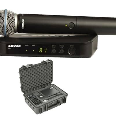 Shure BLX24/B58 (Band H10) + SKB Case