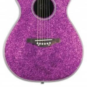 DAISY ROCK PIXIE ACOUSTIC - PINK SPARKLE for sale