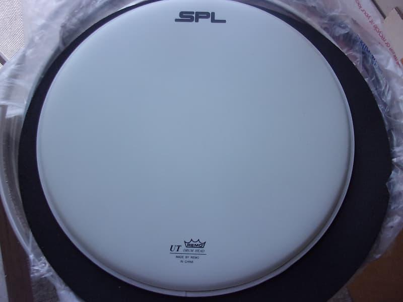 spl logo remo ut 13 batter coated white drum head new reverb. Black Bedroom Furniture Sets. Home Design Ideas