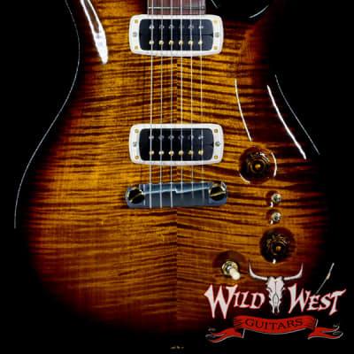 Paul Reed Smith Core 10 Top Paul's Guitar Flame Maple Top Honduran Rosewood Fingerboard Black Gold Burst for sale