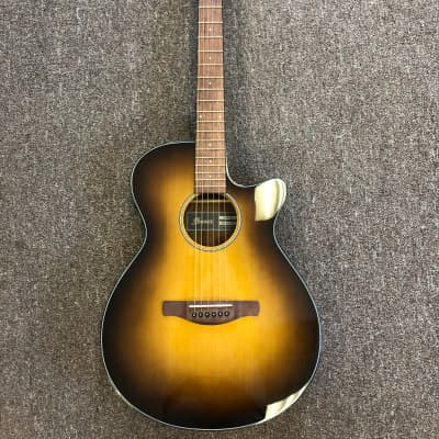 Ibanez AEG50 Dark Honey Burst High Gloss Acoustic Electric Guitar; New w/ Free setup & gigbag ($75 Value)