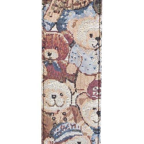 Cute Teddies Teddy Bear Premium Cotton Guitar Strap Pick Plectrum Holder Girl