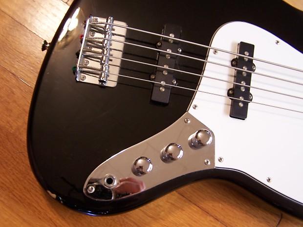 s101 standard jf j2 bk jazz bass guitar reverb. Black Bedroom Furniture Sets. Home Design Ideas
