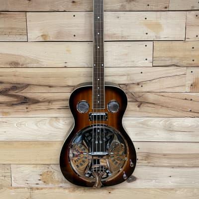 Gold Tone PBB Paul Beard Resonator Acoustic Bass Two Tone Tobacco for sale