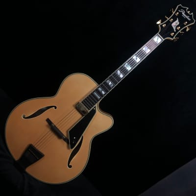 Peerless New York Archtop Electric Guitar Blonde #8392 w original Peerless hard case for sale