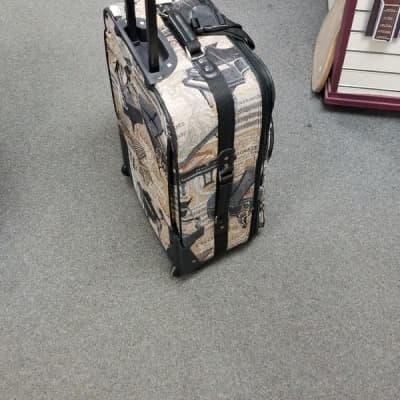 Breitenbach Musician's Travel Suitcase with grand piano design