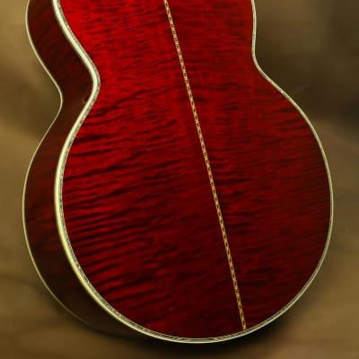 2000 Gibson SJ-200 Vine Cherry Ren Ferguson Custom Acoustic Guitar J-200 for sale