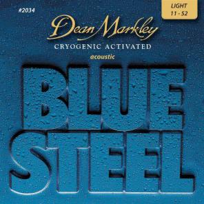 Dean Markley 2034 Blue Steel Acoustic Guitar Strings - Light (11-46)