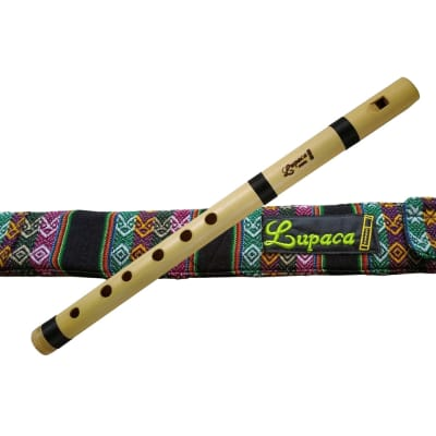 Professional bamboo Lupaca Pincuyo recorder flute in G (Sol)