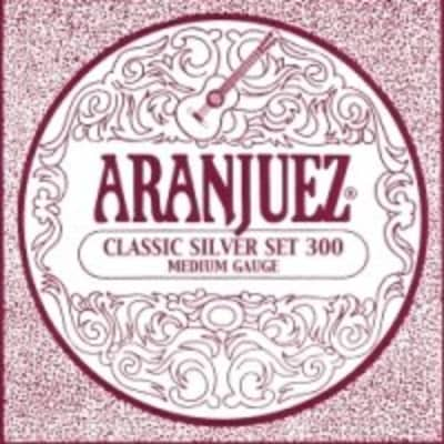 Aranjuez Classic Silver Set 300 Classical Guitar Strings for sale
