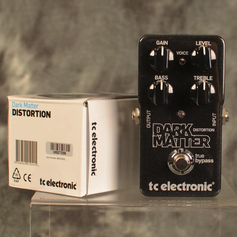 tc electronic dark matter distortion w free same day reverb. Black Bedroom Furniture Sets. Home Design Ideas