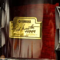 Yamaha Rick Marotta Hip Gig 5 Piece Nesting Drum Kit 2010s Cherry Red image