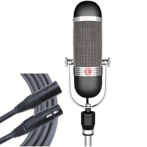AEA R84 Ribbon Studio Recording Vocal Microphone + Mogami Gold Cable + Case